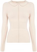 Cute Collar Collection Sweater at Karen Millen