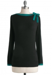 Cute on Cue Sweater at ModCloth