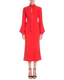 Cutout Cady Midi Dress by Victoria Beckham at Bergdorf Goodman