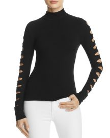 Cutout-Sleeve Sweater by Aqua at Bloomingdales
