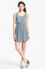 Cutout back print dress by Soprano at Nordstrom