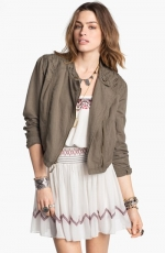 Cutwork jacket by free people at Nordstrom