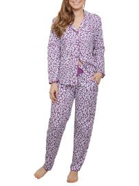 Cyberjammies Fiona Animal Print Pyjama Set at John Lewis