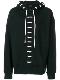 D Gnak lace-up Hoodie - Farfetch at Farfetch