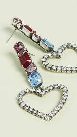 DANNIJO Ruby Heart Earrings at Shopbop