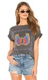 DAYDREAMER Journey Beetle Fly Boyfriend Tee in Faded Black from Revolve com at Revolve