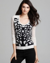 DIANE von FURSTENBERG Sweater - Feronia Cropped at Bloomingdales