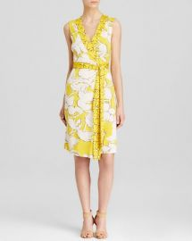 DIANE von FURSTENBERG Wrap Dress - New Yahzi Silk at Bloomingdales