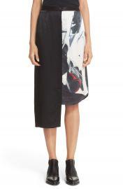 DKNY Asymmetrical Print Pencil Skirt at Nordstrom