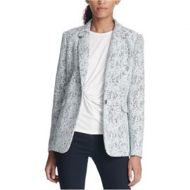 DKNY Bonded Lace One Button Blazer Jacket at Sears