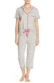 DKNY Jersey Capri Pajamas at Nordstrom