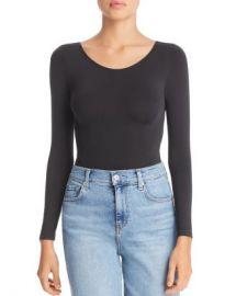 DKNY Opaque Long Sleeve Bodysuit Women - Bloomingdale s at Bloomingdales
