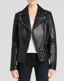 DL2 by Dawn Levy Dakota Quilted Leather Moto Jacket at Bloomingdales