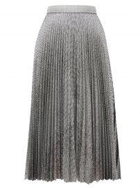 DNA pleated metallic tulle midi skirt at Matches