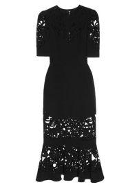 DOLCE GABBANA Laser-Cut Midi Dress at Matches
