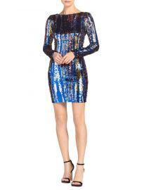 DRESS THE POPULATION - LOLA SEQUIN MINI DRESS at Saks Fifth Avenue