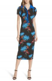 DVF Elly Floral Dress at Nordstrom