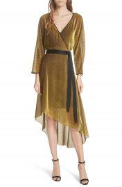 DVF Eloise Asymmetrical Wrap Dress at Nordstrom