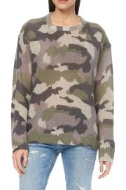 Dahlia Camo Knit Sweater at Nordstrom Rack