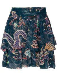 Dahlia skirt at Farfetch