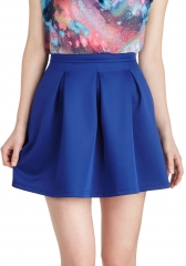 Daily Dynamo Skirt in Bluebell at ModCloth