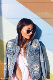 Daisy Patched Denim Jacket at Forever 21