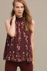Daisy chain blouse at Anthropologie