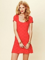 Daisy godet slip dress by Free People at Free People
