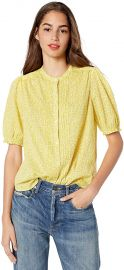 Dakota Ruffle Sleeve Top by Lucky Brand at Amazon