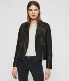 Dalby Leather Jacket at All Saints