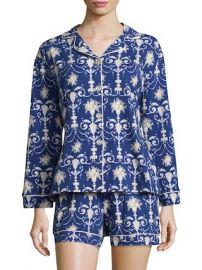 Damask Print Classic Shorty Pajama Set by BEDHEAD PAJAMAS at Gilt at Gilt