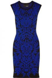 Damask jacquard-knit dress at The Outnet