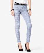 Damask print jeans from Forever 21 at Forever 21