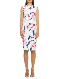 Danica Floral Sheath Dress by Alexia Admor at Saks Off 5th