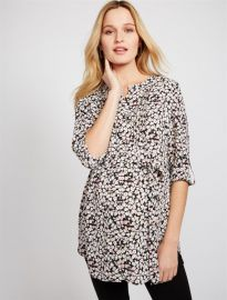 Daniel Rainn Tie Front Maternity Tunic at A Pea in the Pod