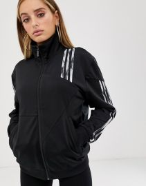 Danielle Cathari deconstructed Firebird track jacket in black at Asos