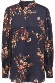 Danton Floral Print Shirt by Equipment at The Outnet