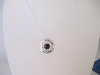 Dark Moon Necklace at Etsy
