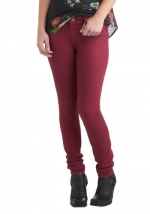 Dark red jeans like Pennys at Modcloth