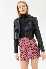 Darren Notched Pelmet Mini Skirt at Urban Outfitters