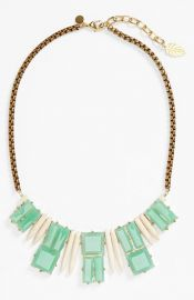David Aubrey and39Delilahand39 Spike andamp Stone Necklace at Nordstrom