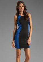 David Lerner Colorblock dress at Revolve