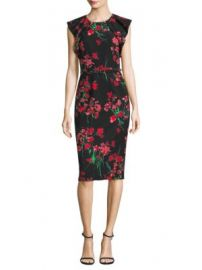 David Meister - Floral Day Dress at Saks Fifth Avenue