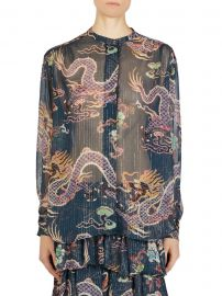 Daws Print Blouse at Saks Fifth Avenue