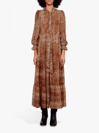 Dayana Leopard Print Dress by Gerard Darel at John Lewis