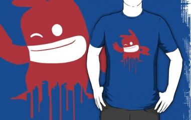 De Blob Shirt at Red Bubble