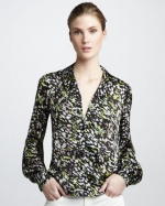 Dean blouse by Rachel Zoe at Neiman Marcus
