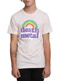 Death Metal Rainbow Tshirt at Hot Topic