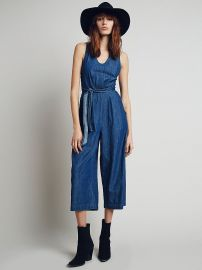Decca Chambray jumpsuit at Free People