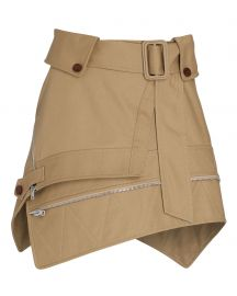 Deconstructed Trench Mini Skirt by Alexander Wang at Intermix